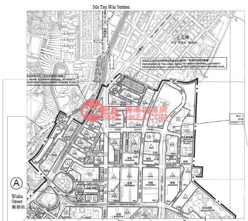 紅磡 環海‧東岸規劃圖