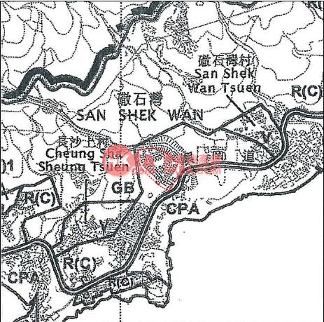 南大嶼山 WHITESANDS規劃圖