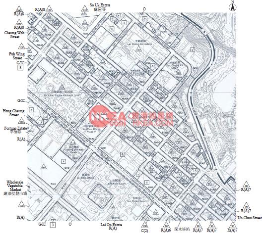 深水埗 青薈規劃圖