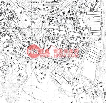 筲箕灣 形薈位置圖