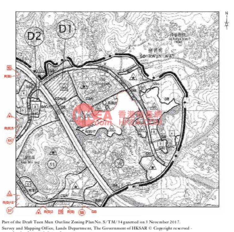 黃金海岸 NAPA規劃圖