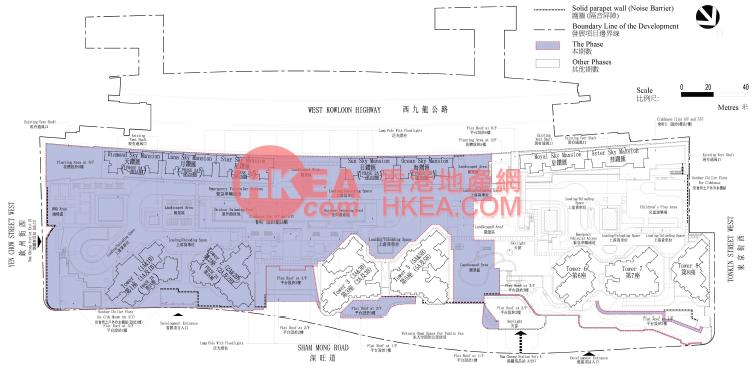 深水埗 匯璽 2A佈局圖