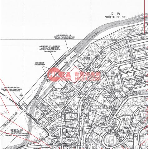 北角 維港頌規劃圖