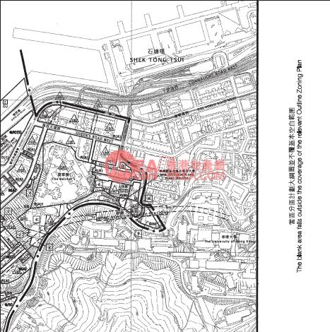 石塘咀 翰林峰規劃圖