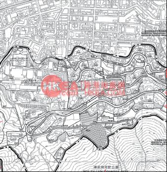 西半山 巴丙頓山規劃圖