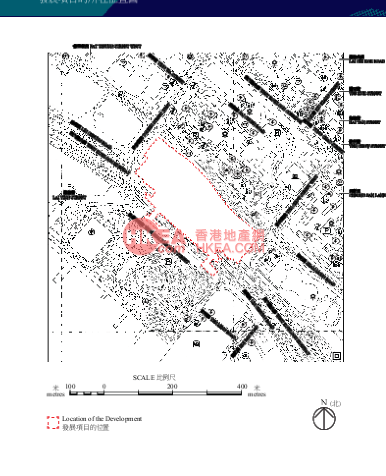 奧運站 匯璽II位置圖