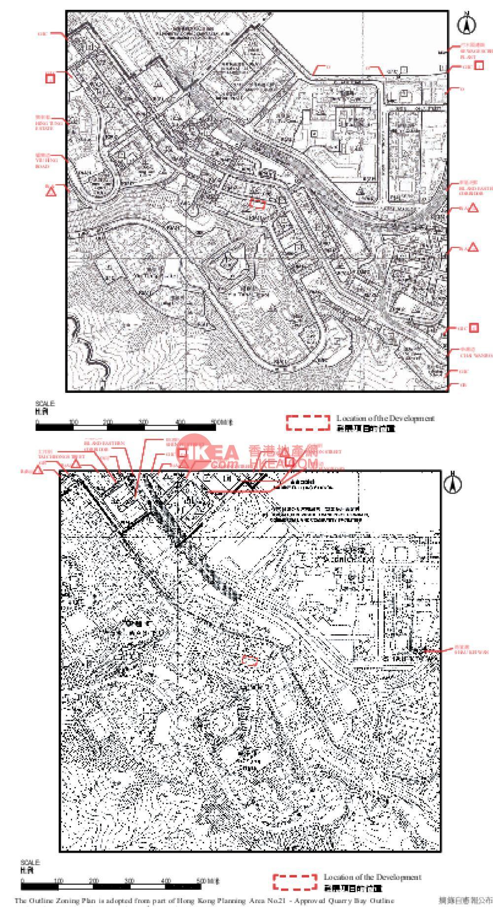 西灣河 逸瑆規劃圖